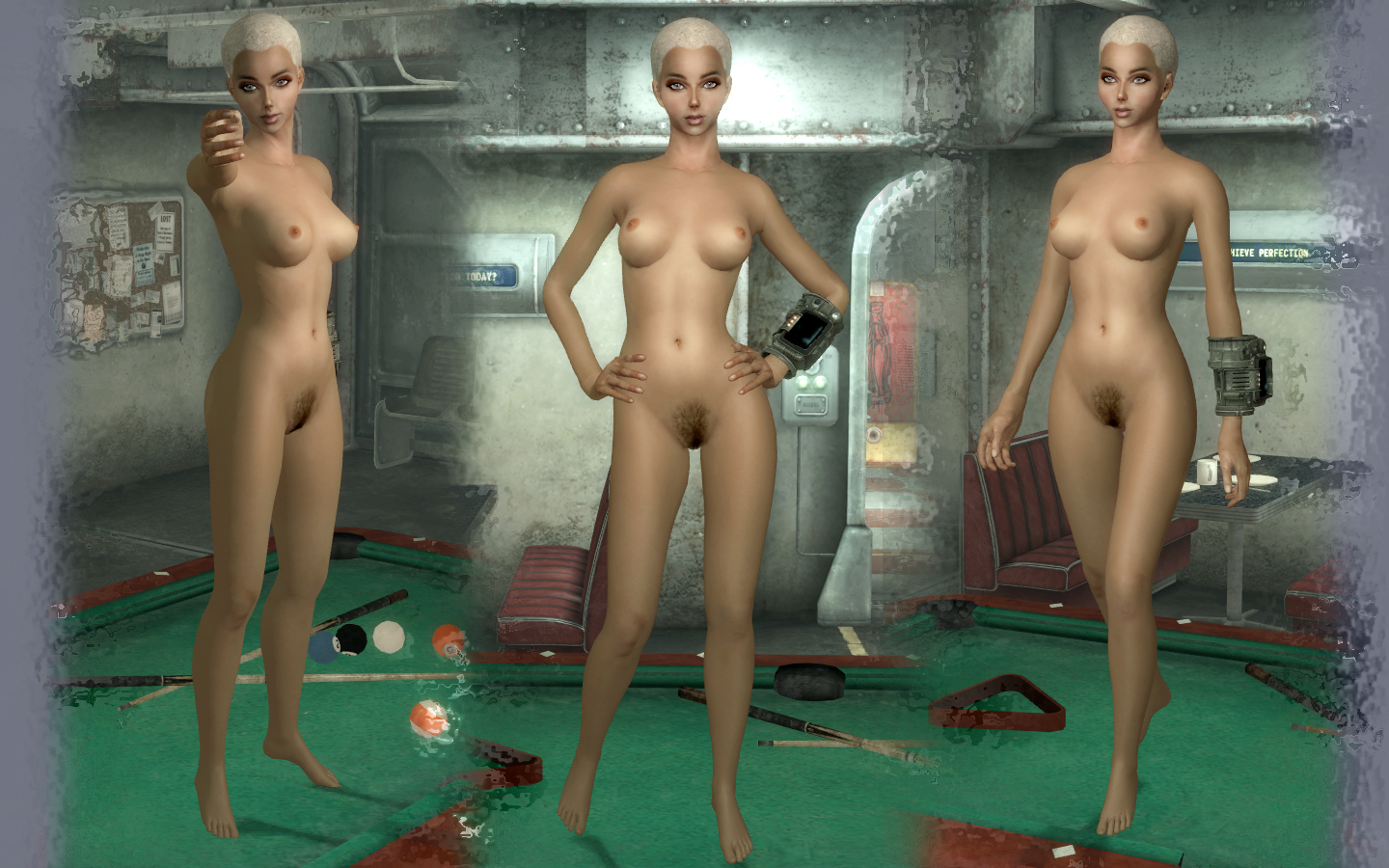 Fallout nude body replacer smut pictures