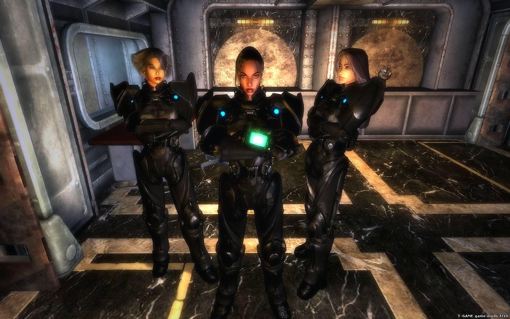 Fallout 3 новая сексуальная броня