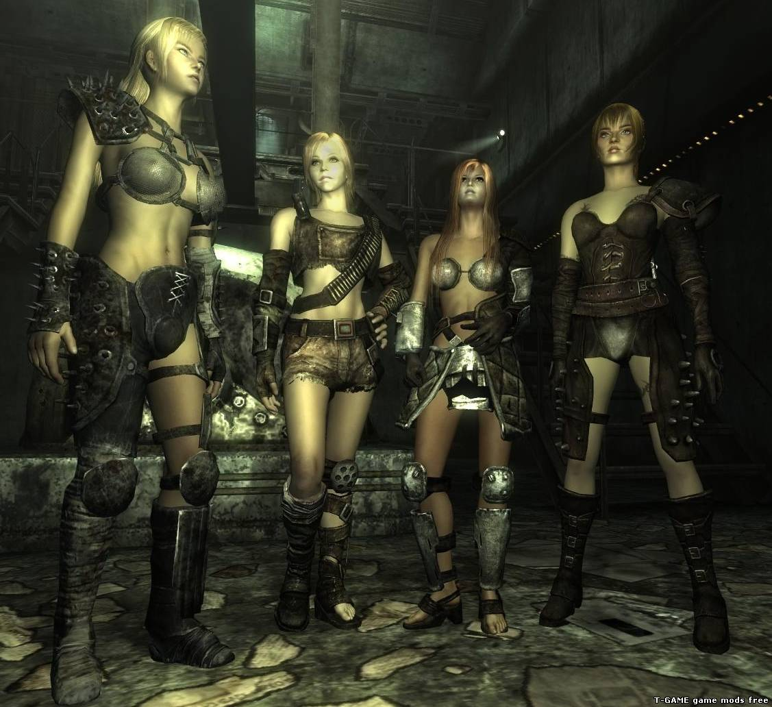 Fallout 3 text mods nud pron clip