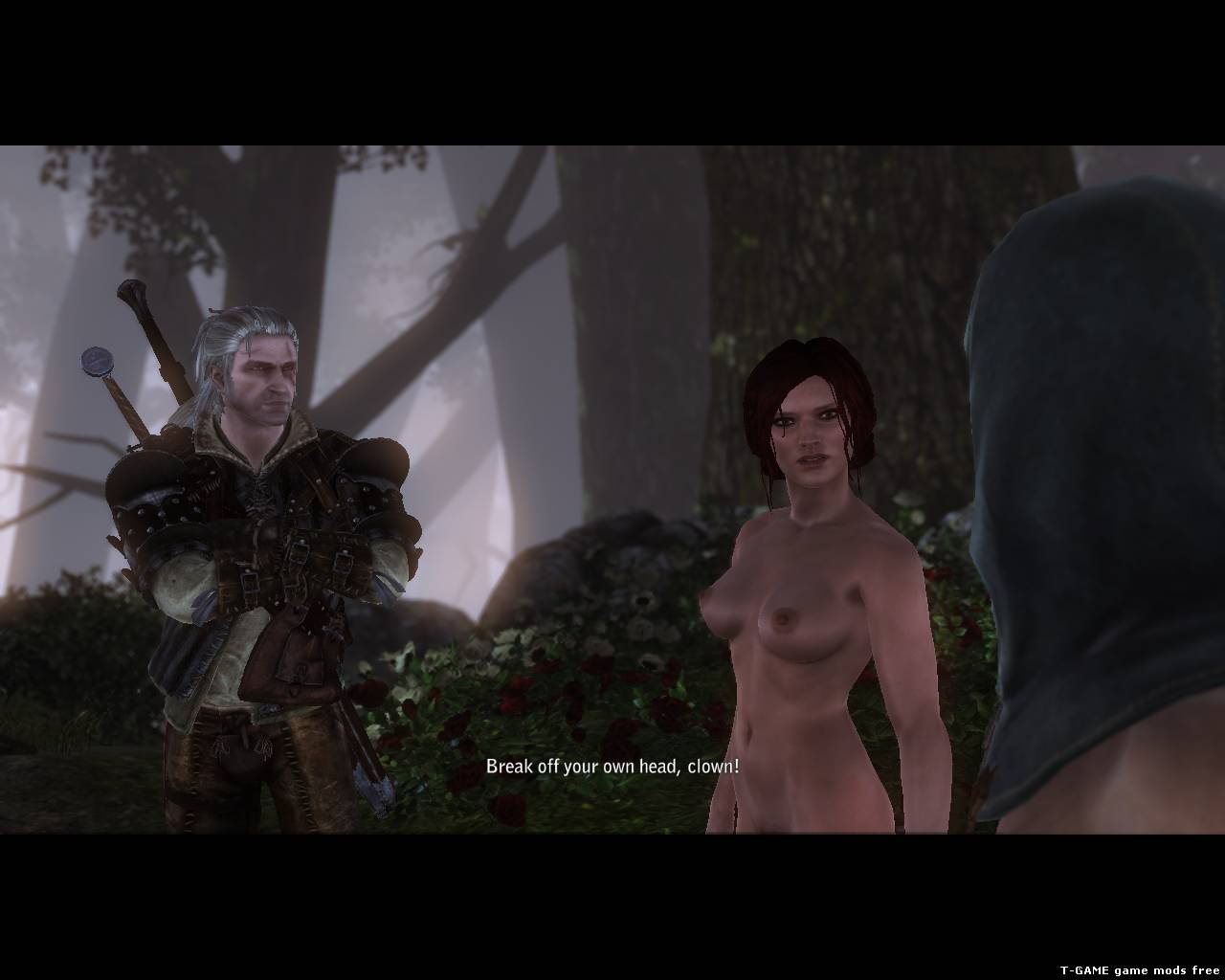 Witcher 2 nude mode erotic realistic chick